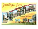 Greetings from Bainbridge  Georgia
