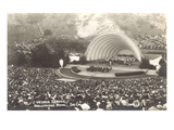 Vesper Service at Hollywood Bowl  Los Angeles  California