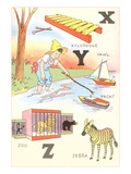 Learning the Alphabet  X  Y and Z
