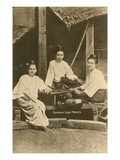 Burmese Cigar Makers