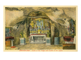 Jerusaalem  Tomb of the Virin  Grotto of Agony