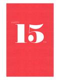 Happy 15th