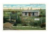 Roosevelt's Log Cabin  Bismarck  North Dakota