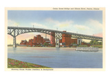 Cedar Street Bridge  Peoria  Illinois