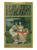 Scribner&#39;s Magazine Cover with Muses