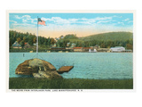 Weirs  Interlaken Park  Lake Winnipesaukee  New Hampshire