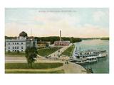 Water Works Park  Rockford  Illinois