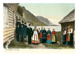 Traditional Wedding  Hardanger  Norway