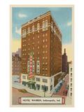Hotel Warren  Indianapolis  Indiana