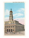 Mormon Temple  Nauvoo  Illinois