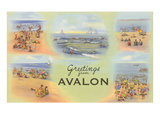 Greetings from Avalon  New Jersey