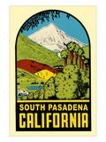 Decal of South Pasadena  California