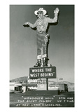 Wendover Will  Giant Cowboy