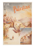 Travel Poster for Palestine