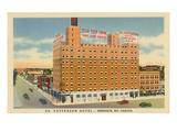 Patterson Hotel  Bismarck  North Dakota