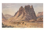 Mt Sinai  Israelites Wandering in the Wilderness