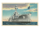 Battleship USS New York