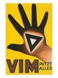 Vim Putzt Alles Poster