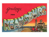 Greetings from Keansburg  New Jersey