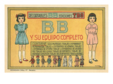 Mexican Paperdolls  Little Girls