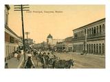 Main Street  Guaymas  Mexico