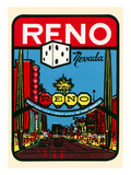 Reno  Nevada Decal