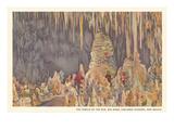 Big Room  Carlsbad Caverns  New Mexico