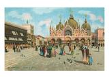 St Mark's Basilica  Venice  Italy