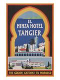 El Minza Hotel  Tangier  Morocco