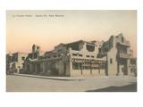 Vintage La Fonda Hotel  Santa Fe  New Mexico