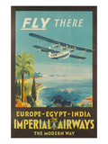 Biplane Clipper  Imperial Airways