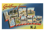 Greetings from Long Branch  New Jersey