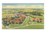 Aerial View of Boys Town  Omaha  Nebraska
