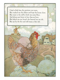Mother Goose Rhyme  Pretty Little Hen