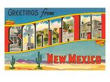 Greetings from Santa Fe  New Mexico
