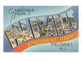 Greetings from Palisades Park