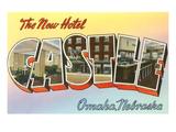 Greetings from Hotel Castle  Omaha  Nebraska