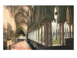 Cloister at Amalfi Cathedral  Italy