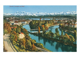 Zurich  Limmat and Sihl  Switzerland