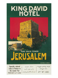 Poster for King David Hotel  Jerusalem