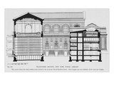 New York Public Library  Cross Section