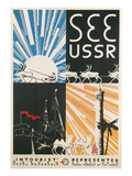 Travel Poster for USSR