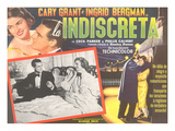 Spanish One-Sheet for Indiscreet