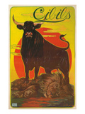 Poster for Cibils Meat Extract  Bull  Lion