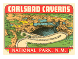 Carlsbad Caverns  New Mexico  Decal