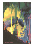 Painting of Carlsbad Caverns  New Mexico