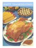 Happy Thanksgiving  Roast Turkey