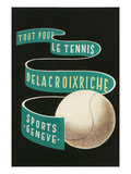 Poster for Tennis Supplies