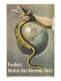 Ban Atomic Weapons  Snake and Globe