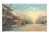 Vintage Street Scene  Carlsbad  New Mexico